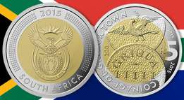 R5 coinage of griqua town on grab for only 10000