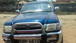 Toyota double cab manual