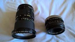 Canon Zoom Lens FD 35-105mm 1:3.5 Macro and 50mm 1:1.8 for Sale R550