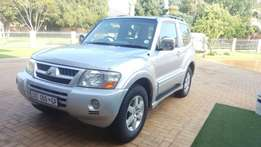 2006 Mutsubishi Pajero DID 3.2 Diesel short wheel base