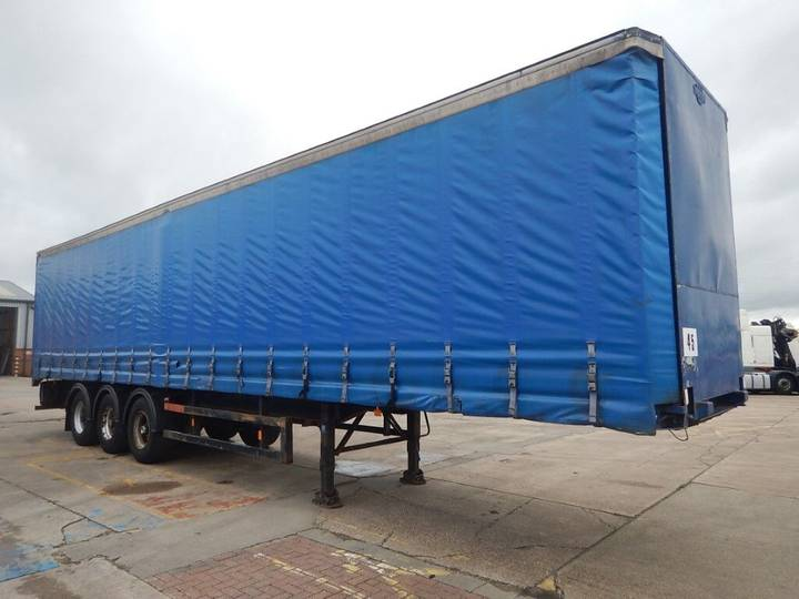 Frühauf 44FT CURTAINSIDE TRAILER - 1990 - A139406 - 1990