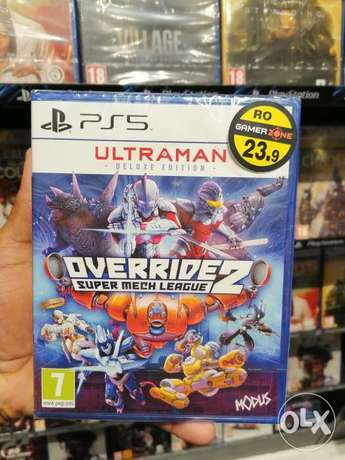 OverRide Ps5 game available