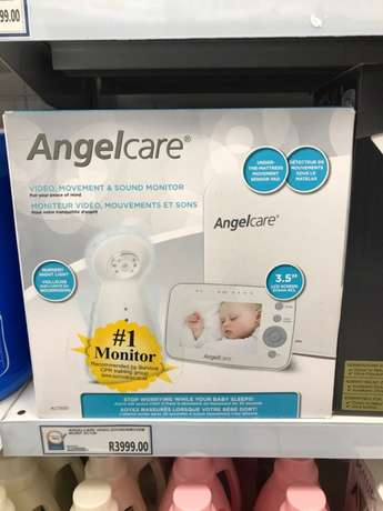 Angelcare AC1300 video, movement and sound monitor Sandton - image 1