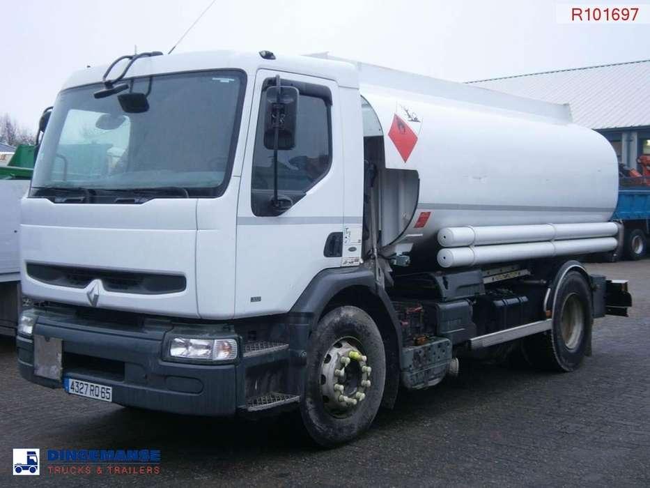 Renault Premium 300 4x2 fuel tank 13.5 m3 / 6 comp. - 2001