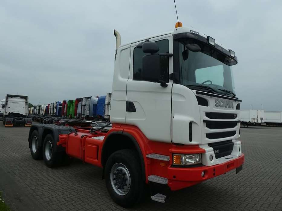 Scania G440 6x6, manual - 2012 for sale | Tradus