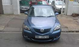 2010 Mazda3 1.6 blue in color available for sale