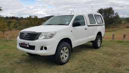 2012 Toyota Hilux 2.5 SRX with Canopy