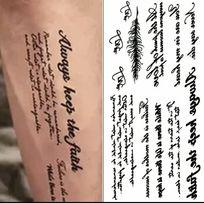 Tatuaże Dodatki Olxpl