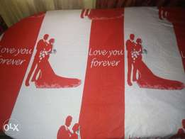 love you forever table cover 12 pieces