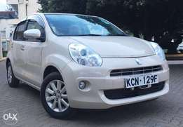 Toyota Passo New shape 1300cc KCN