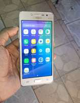 Samsung grand prime plus, with front flash.Supper clean