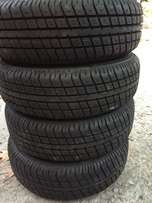 four brand new tires 13s 165x70x13 s with rims