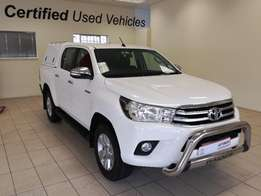 Toyota Hilux 2.8GD6 4x4 Manual Double Cab 2016 Model