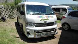 Taxi's and mini vans for hire