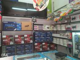 All digital, Free to air decoders and other electronics under one roof