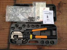 Hellermann Tyton hydraulic compression tool / crimper (HYCP-400)