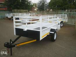 3M Single acle utility Trailer for sale, Papers and veridot incl.