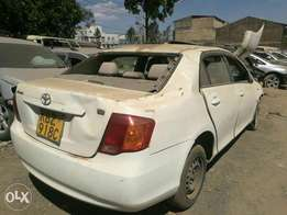Toyota AXIO salvage for quick sale
