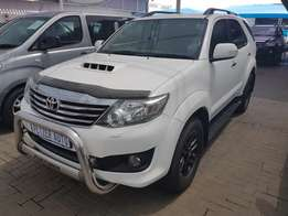 2012 Toyota Fortuner 3.0 D4D R/B A/T