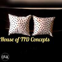 Bedsheets,throw pillows & duvets