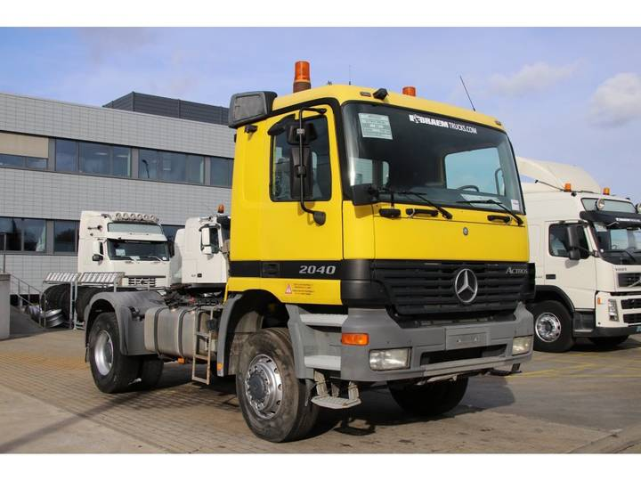 Mercedes-Benz ACTROS 2040 AS + SEMI LIEBHERR 9M3 - 2003