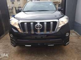 Clean Black 2014 Prado Jeep