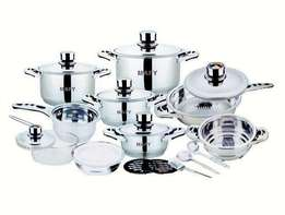 16 or 21-PCS Mafy Swiss Pot Set