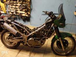 Kawasaki KLE 500 stripping for spares