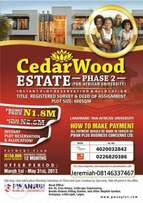 Cedarwood phase 2 is the best offer you can get this year