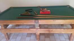 Snooker Table Half Size Incl Accessories