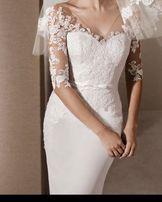 2cb79bbff1 Sukienka Suknia ŚLUBNA Biała LaSposa Rebeca Pronovias FLOSSMANN XS 34