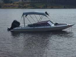 Very neat power boat for sale