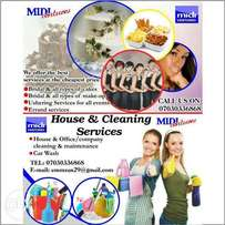 Midi ushering and cleaning services