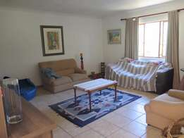 Furnished 2 bedroom flat in quiet residential area