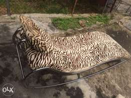 Used, pure zebra skin reclaimer for relaxation for sale  Maryland