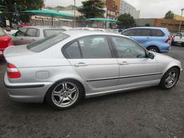 A BMW, 2005 Model, 158000km, Automatic, Sliver in color, 4-doors,