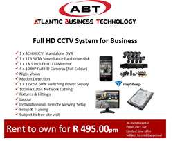 Full HD CCTV System for Business