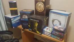 Playstation 4 collectors editions and games for sale
