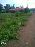 Kisian/Ojola Road Plot 1/2Acre 3.5M Negotiable