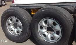 tyres forsale with rims