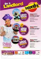 Be a landlord at Lekki garden today 4m