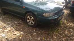 Subaru Impreza Old shape jungle Green