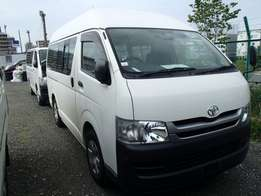 Toyota Hiace van manual diesel 2 wheel drive