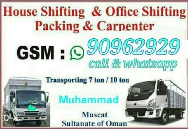 Movers transport Packing loading unloading whsy
