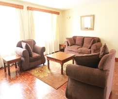 3,4 bed furnished serviced apartments for rent Kilimani Nairobi