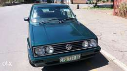 2001 green vw city golf for sale neg.