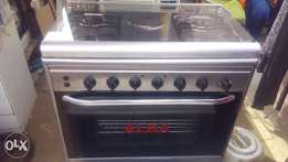 New german ALBA 6unit gas cooker with oven and grill