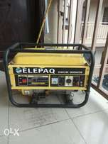 Elepaq 3.7kva big double coil generator for sale urgently