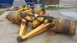 Volvo A40D all 3 complete axles