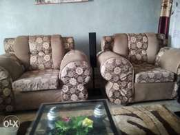 Seven seater chairs..
